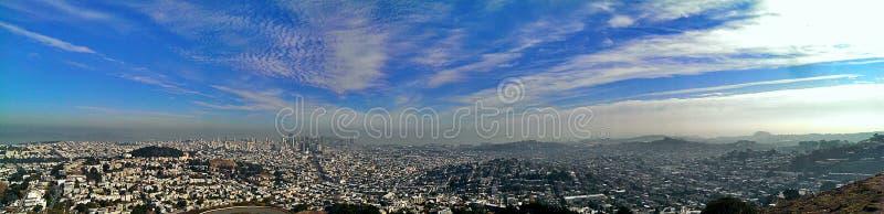 San Fransisco panorama obraz stock
