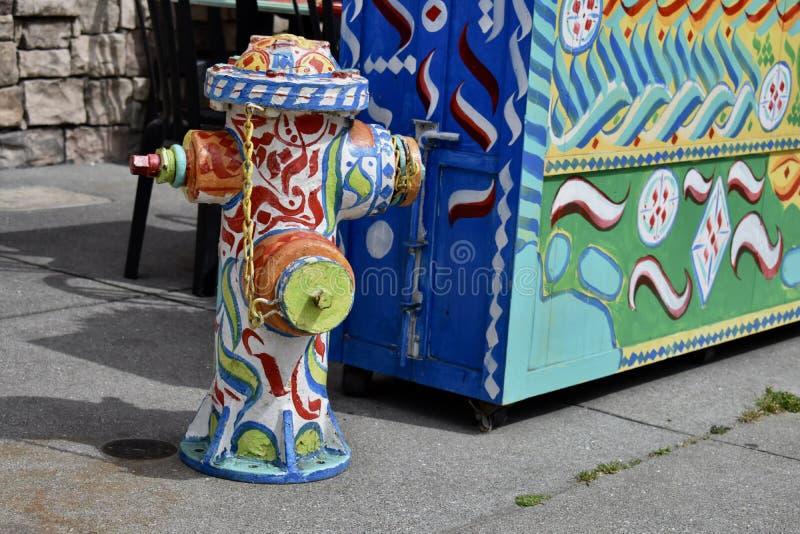 San Fransisco pożarniczy hydrant wyjątkowo zdjęcia royalty free