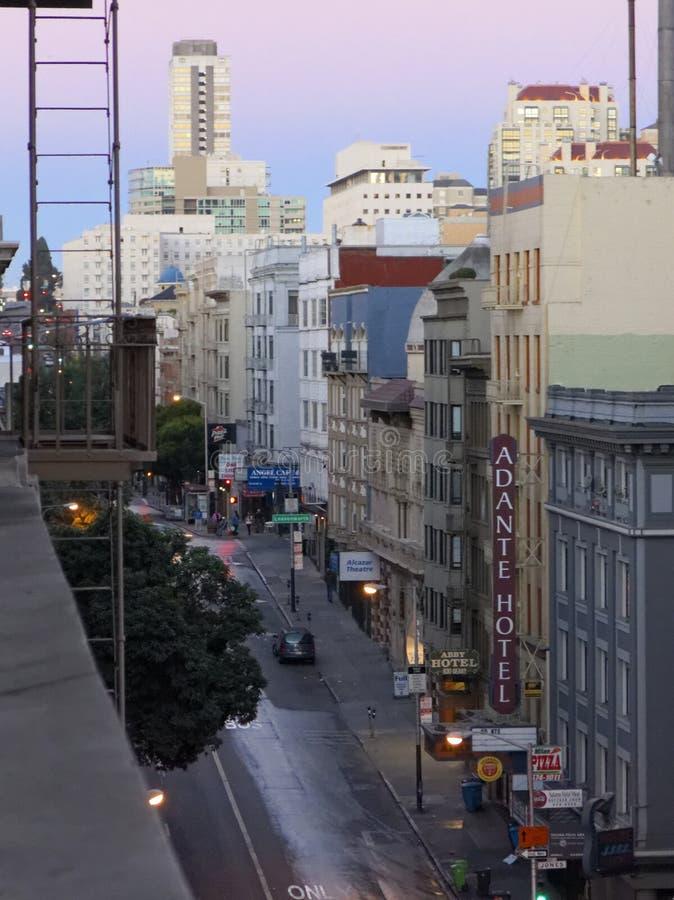 San Fransisco ranek obraz royalty free