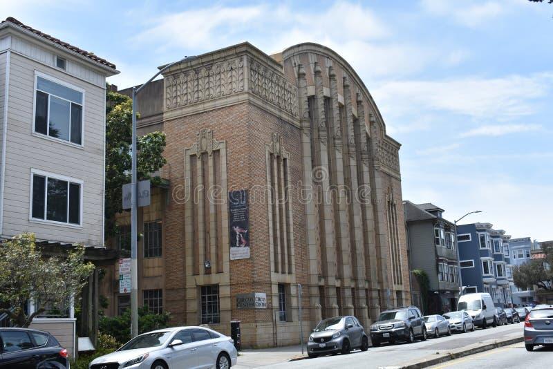 San Fransisco ` s szkoły średniej chłopiec poprzedni Politechniczny gym, 2 zdjęcie royalty free