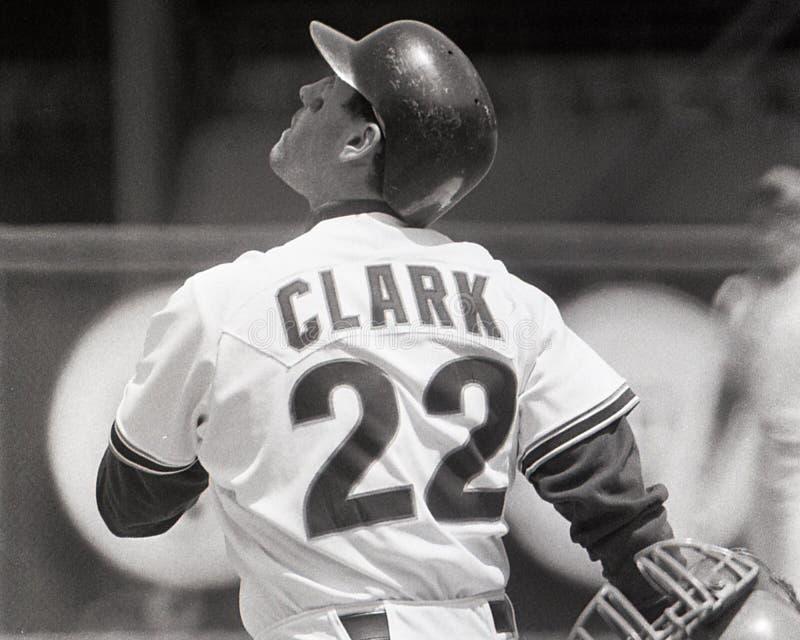 San Fransisco Slugger Will Clark foto de archivo libre de regalías