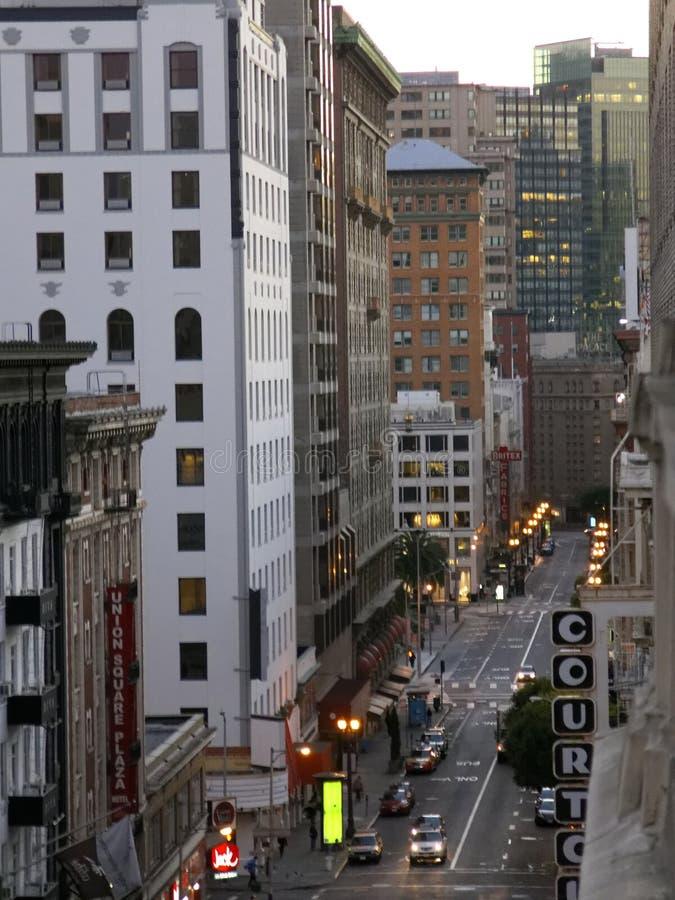 San Fransisco ulica obraz stock