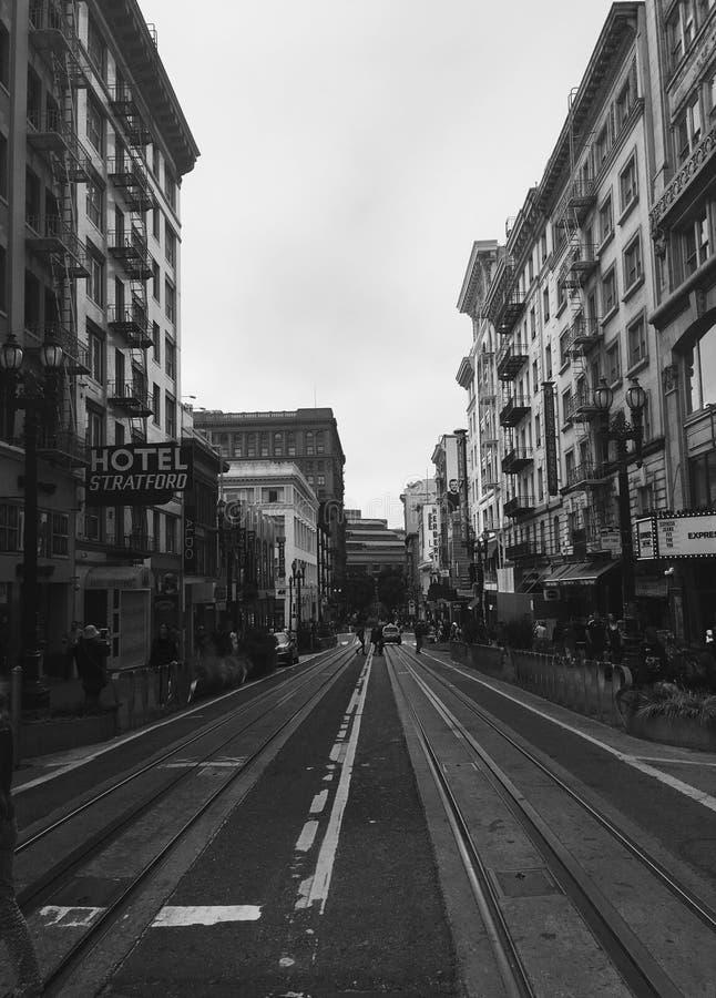 San Fransisco ulica zdjęcie stock