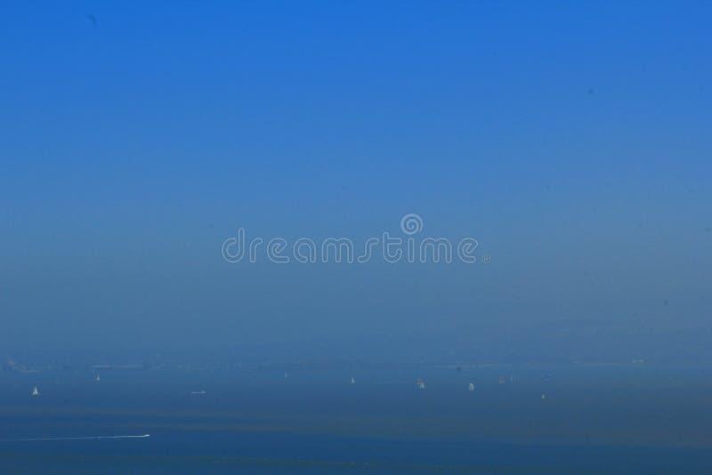 San Fransisco zatoki terenu ulicy widok na ocean obrazy royalty free