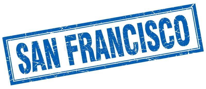 San Fransisco znaczek ilustracja wektor
