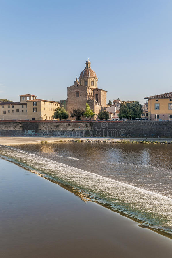 Download San Frediano In Cestello Church In Florence, Italy. Stock Photo - Image of italia, famous: 39509494