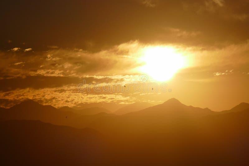 San Gabriel Mountains National Monument Dawn fotos de stock