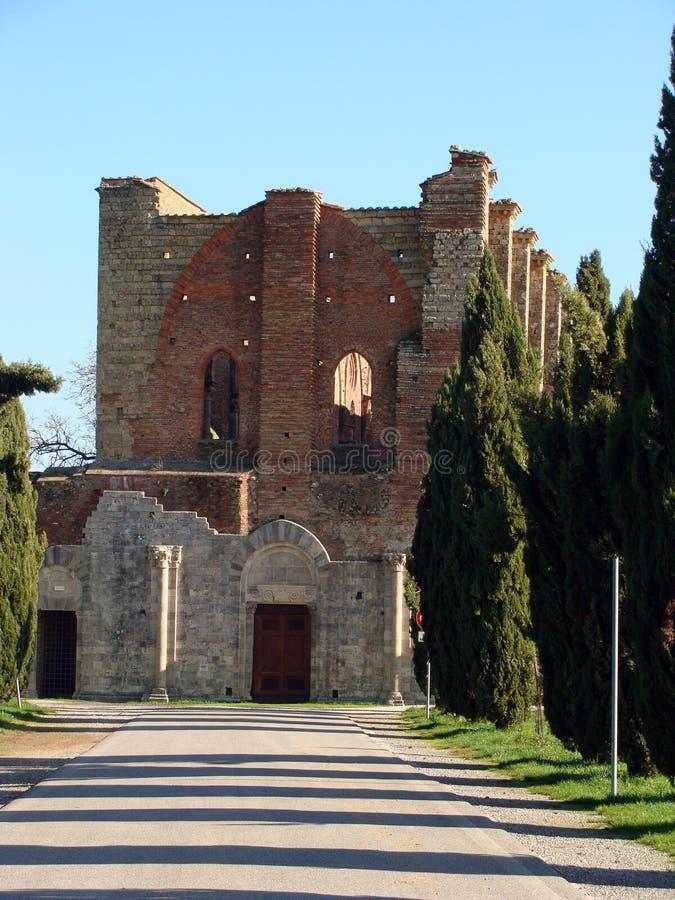 Download San Galgano stockbild. Bild von hügel, outdoor, katholisch - 27728339
