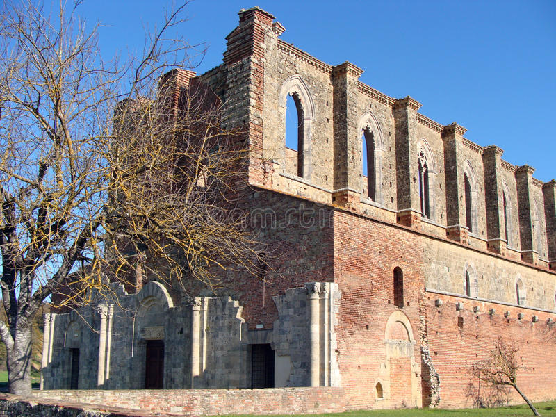 Download San Galgano stockfoto. Bild von kirche, outdoor, religion - 27728398