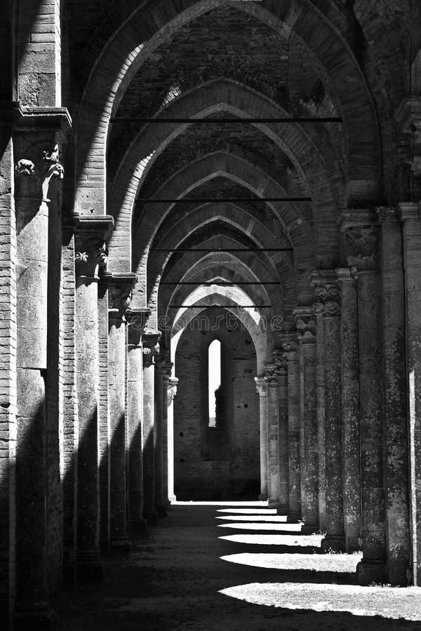 Download San Galgano Abbey, Tuscany stock photo. Image of perspective - 21205198