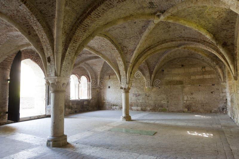 San Galgano (Sienne, Toscane, Italie) image stock