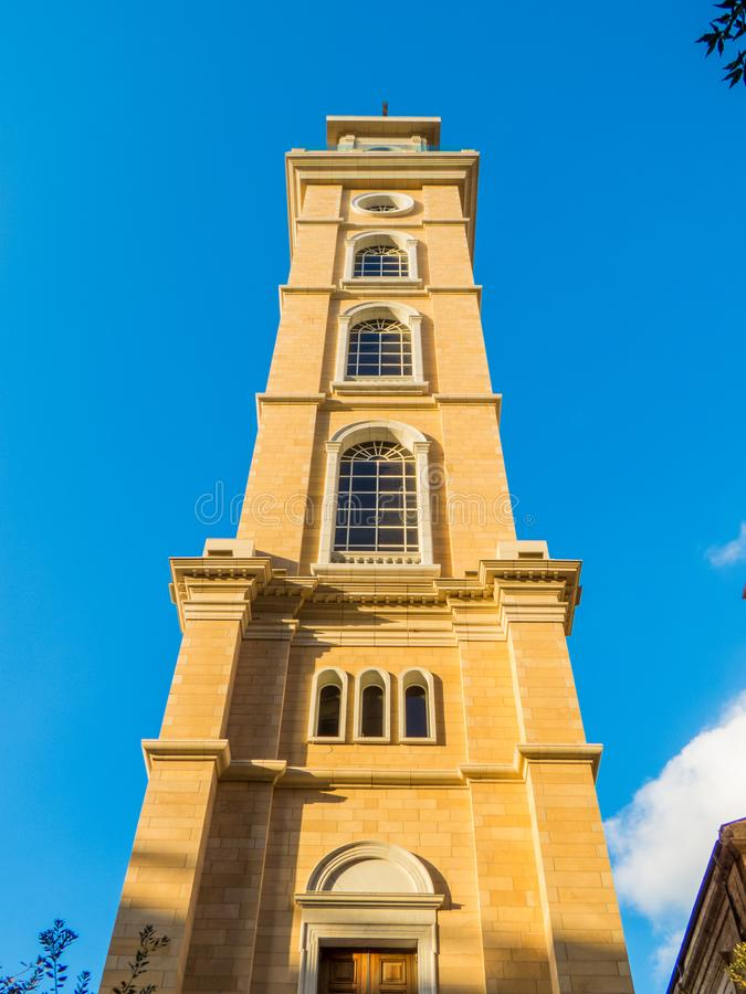 San Georges Maronite Cathedral a Beirut, Libano fotografie stock