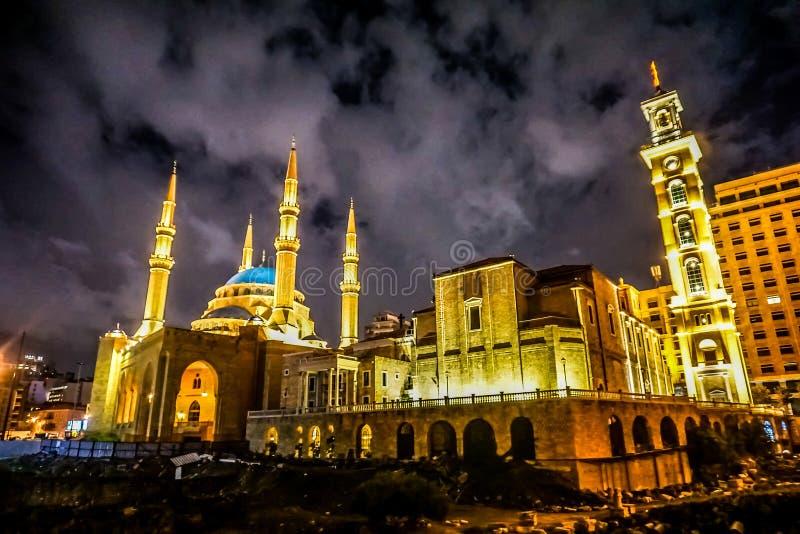 San Georges Maronite Cathedral 05 di Beirut immagine stock