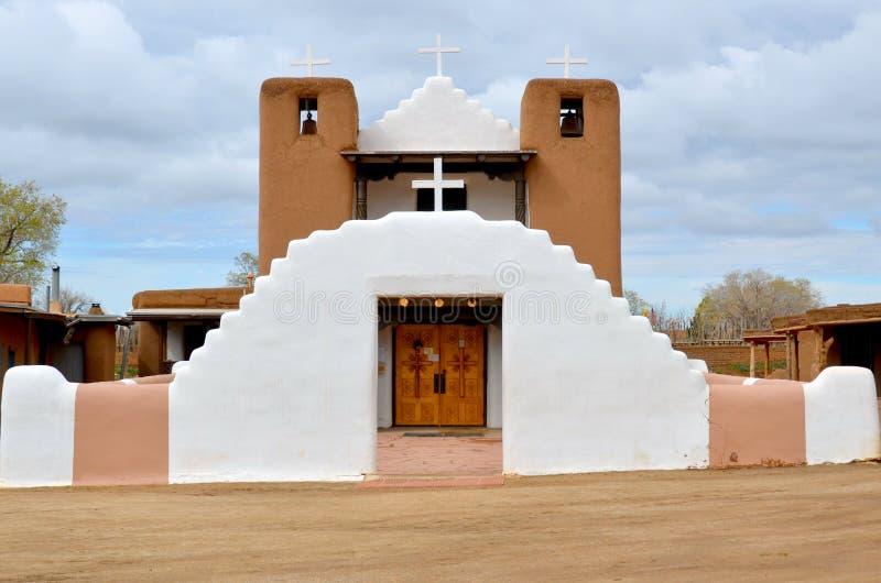San Geronimo Chapel stock image
