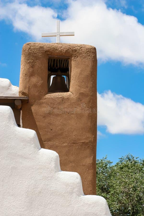 San Geronimo kaplica w Taos osadzie, usa zdjęcie royalty free