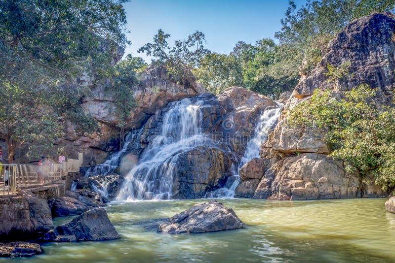 San Ghagra waterfall, Odisha, India. San Ghagra Waterfall In Keonjhar District, Odisha stock images