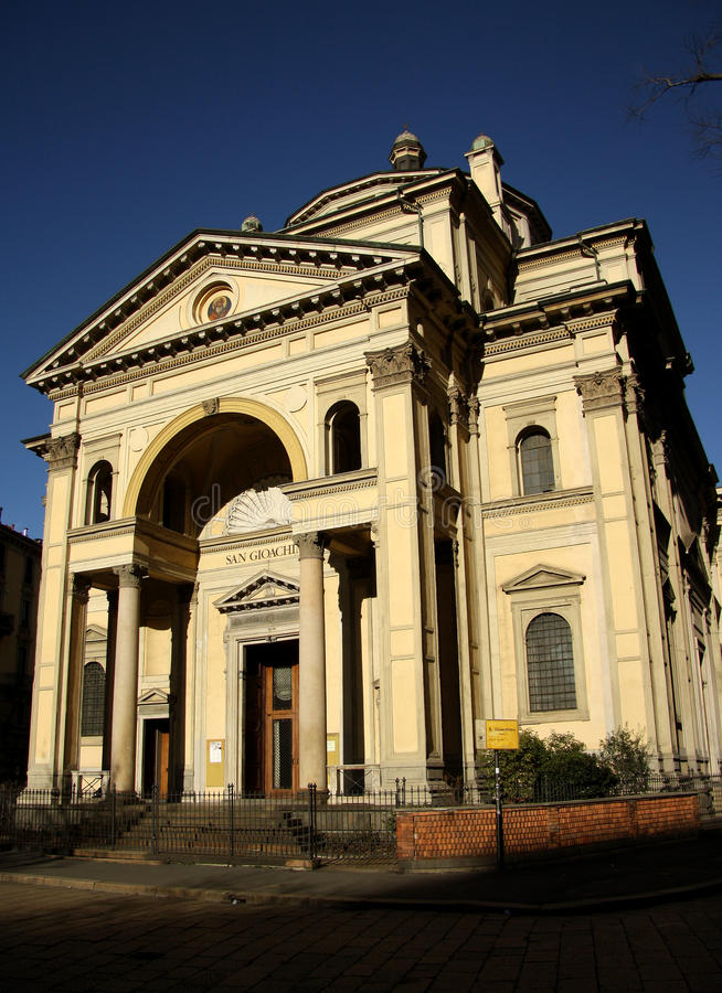 Download San Giachimo Church In Milan, Italy Stock Photography - Image: 37266732