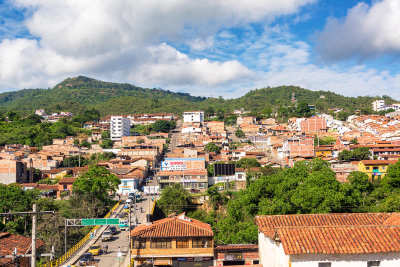 San Gil Cityscape foto de stock royalty free