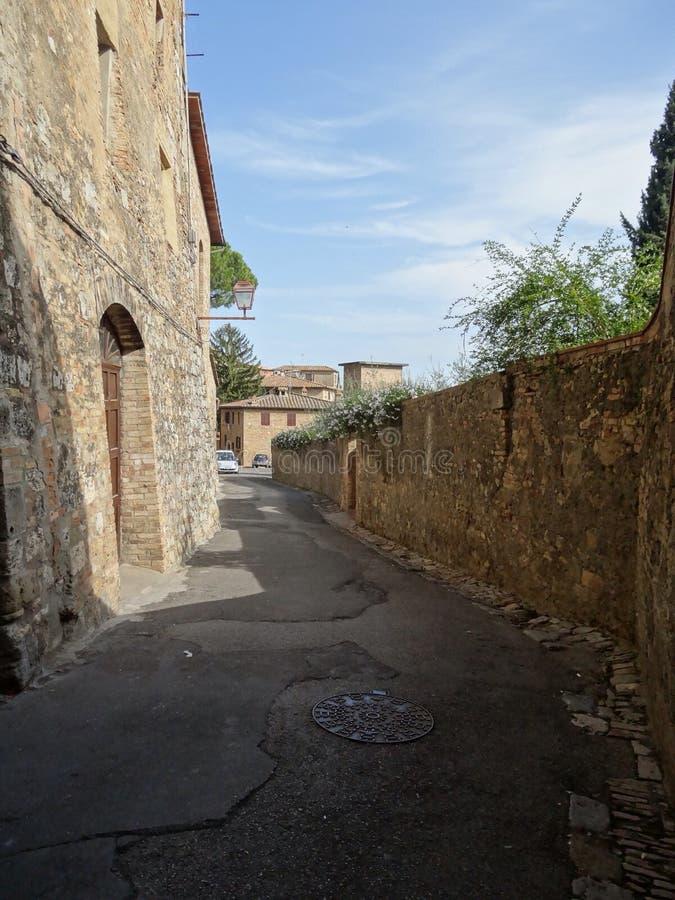 San-gimigano royalty-vrije stock afbeelding