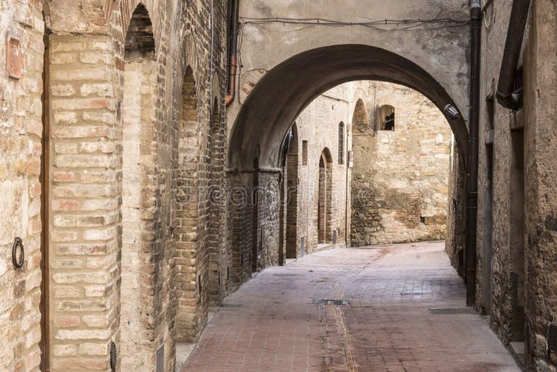 San Gimignano stockfotos