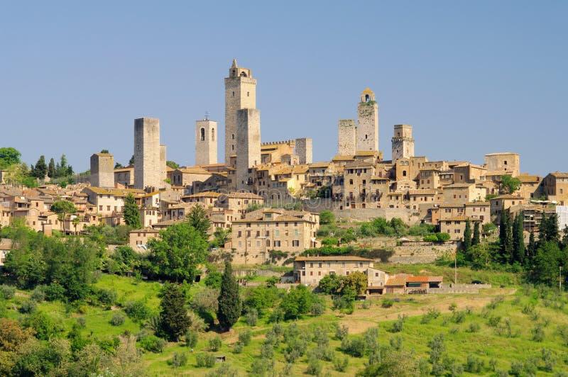 San Gimignano royalty free stock photos