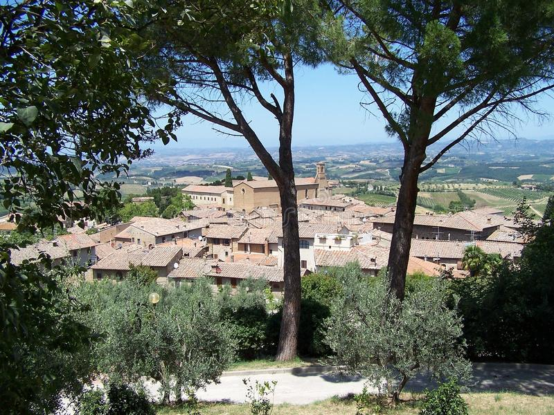 Download San Gimignano stock image. Image of town, middle, cityscape - 21775427