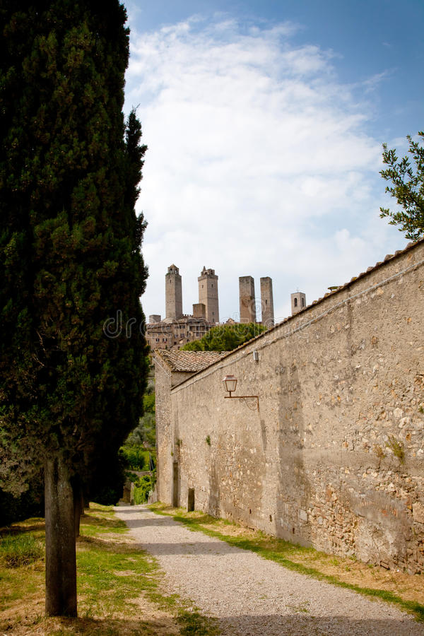 Download San gimignano stock image. Image of nature, house, ancient - 28569273
