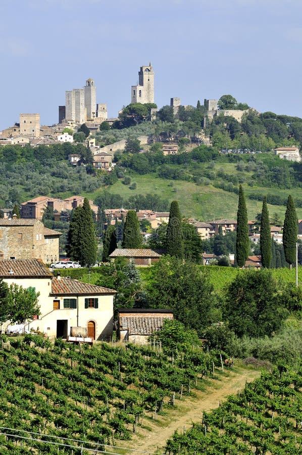 San Gimignano photos stock