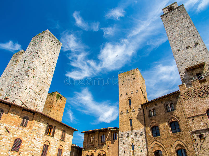 San Gimignano zdjęcia royalty free