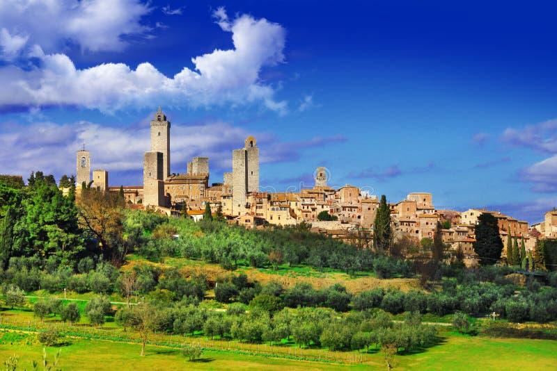 San Gimignano стоковые изображения