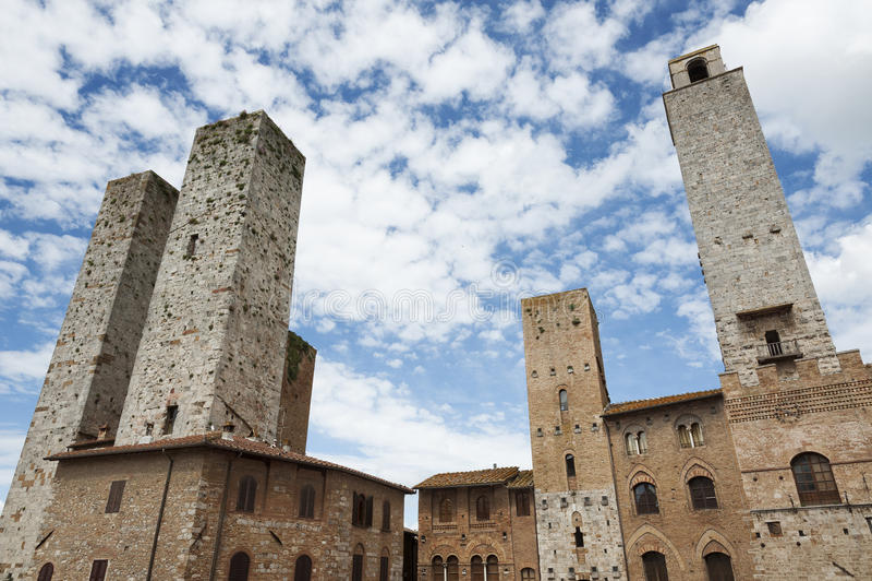 San Gimignano obraz stock