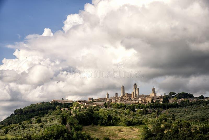 San Gimignano imagen de archivo libre de regalías