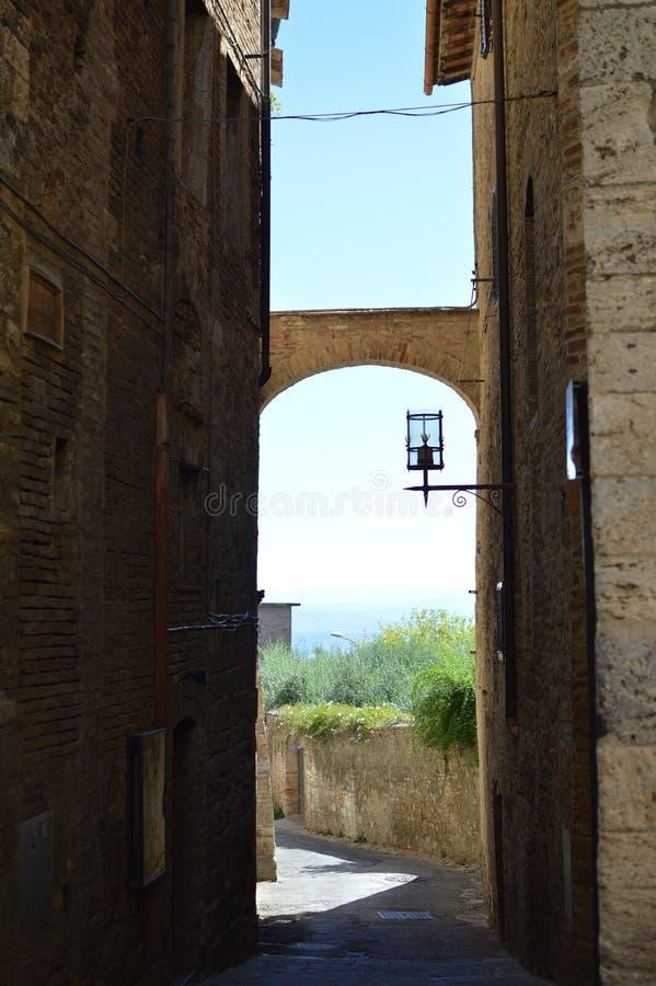 San Gimignano royalty-vrije stock afbeeldingen