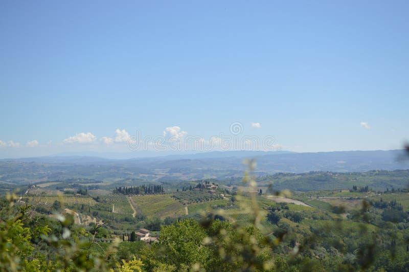 San Gimignano immagine stock libera da diritti