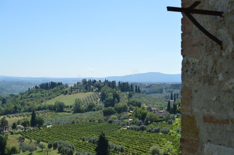 San Gimignano royalty-vrije stock foto