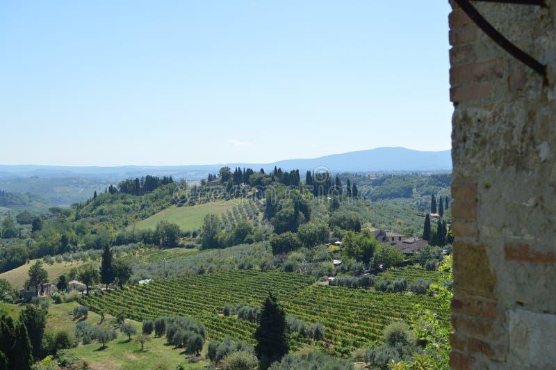 San Gimignano imagens de stock royalty free