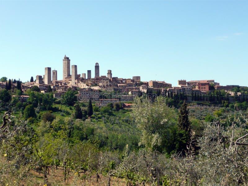 San Gimignano foto de stock