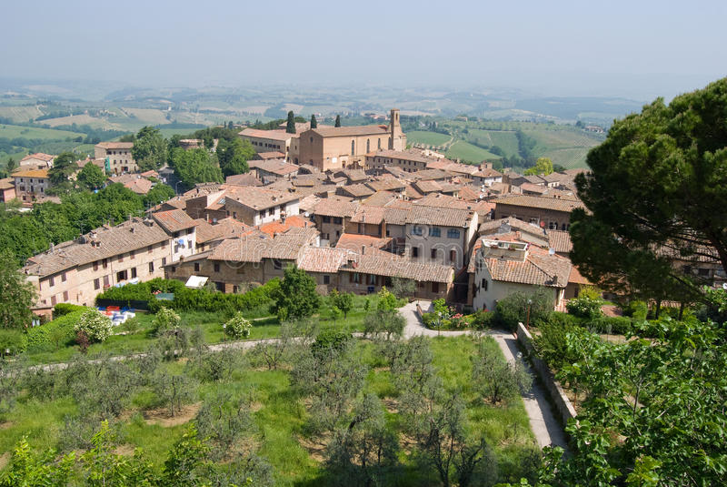 San Gimignano stockfoto