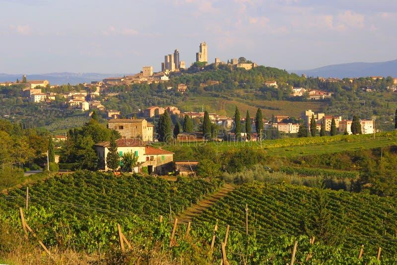 San Gimignano, Italia fotos de archivo libres de regalías