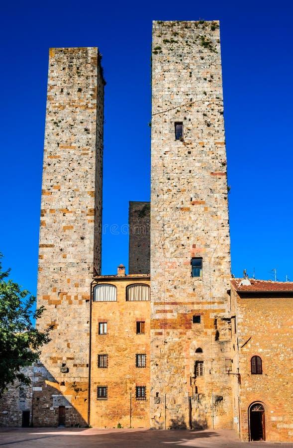 San Gimignano, Italy imagens de stock