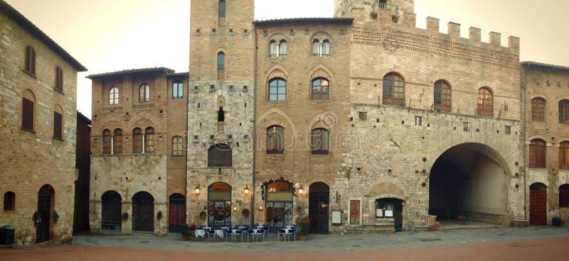 San Gimignano - l'Italia immagine stock