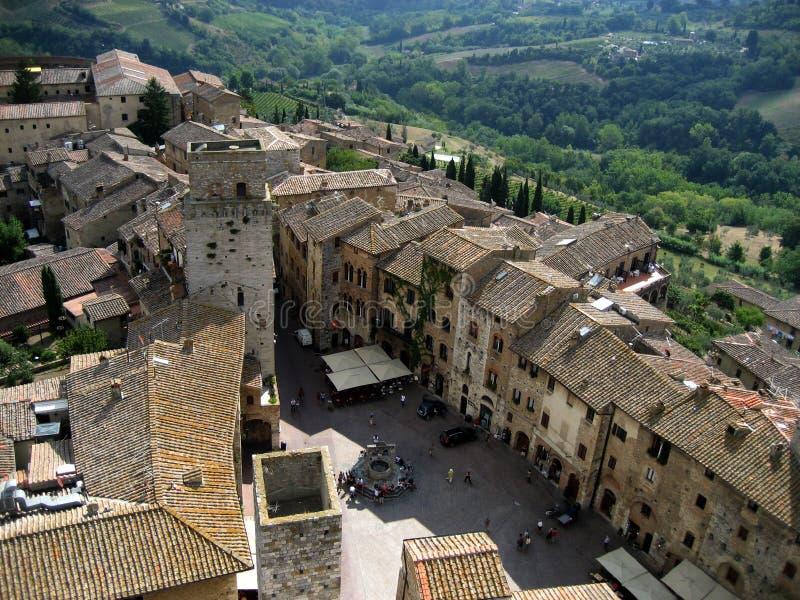 San Gimignano. Medieval village of San Gimignano, Tuscany, Italy royalty free stock images