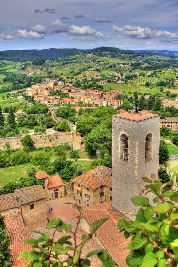 San Gimignano, Toscana, Italia immagine stock