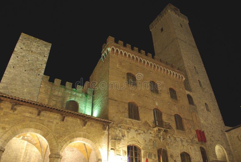 San Gimignano, Toscana, Italia fotografia stock