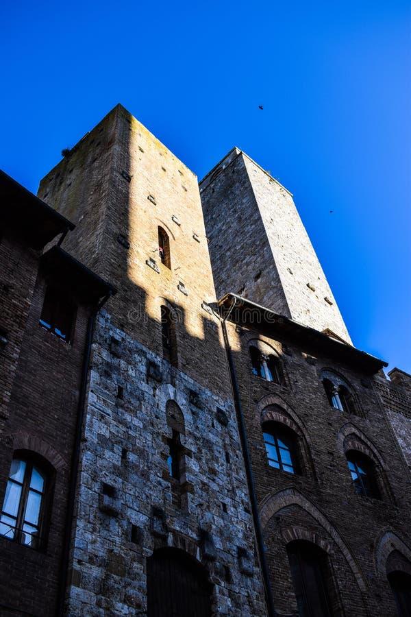 San Gimignano in Toscanië, Italië royalty-vrije stock foto
