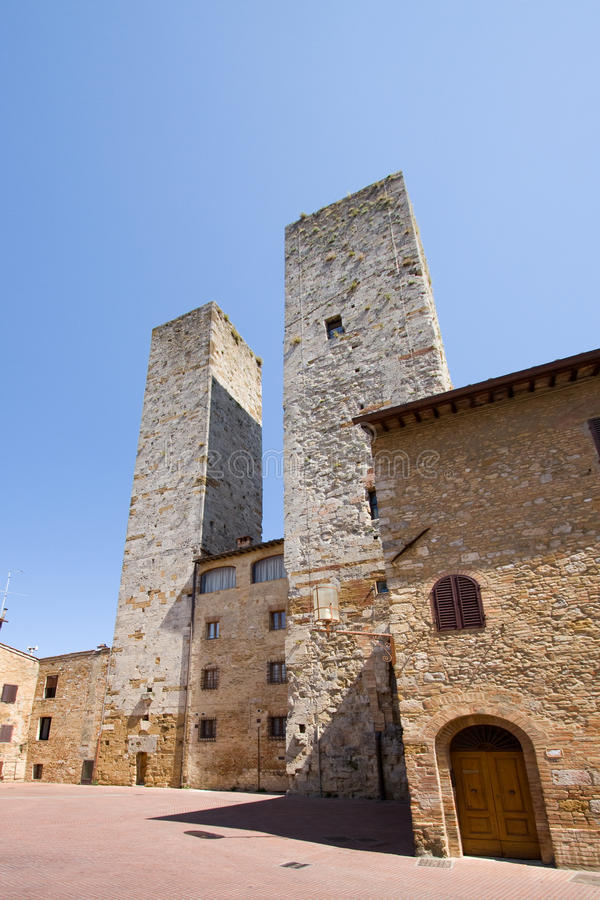 Download San Gimignano towers stock photo. Image of outdoor, outside - 13768004