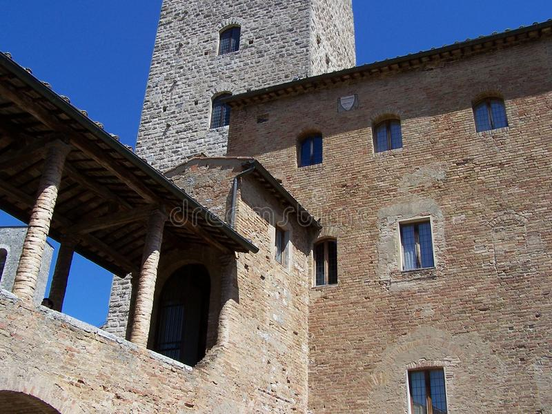 Download San Gimignano - Town Hall Royalty Free Stock Images - Image: 21775399