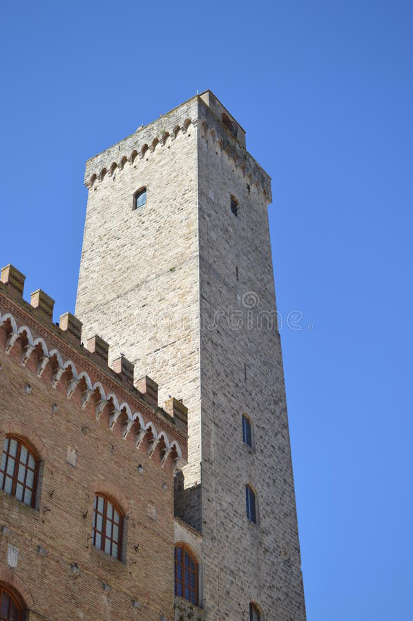 San Gimignano royalty free stock images