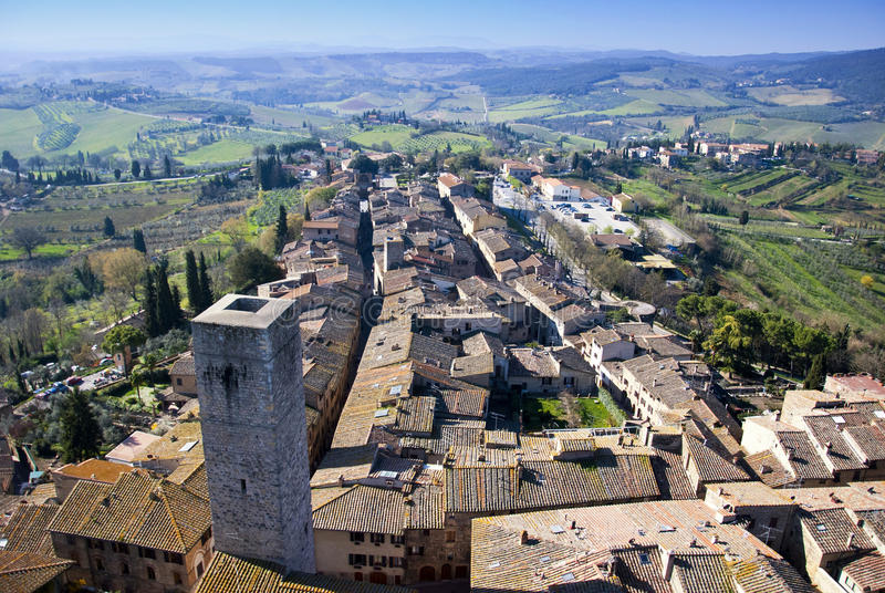 Download San Gimignano - Tuscan Italy Stock Photo - Image: 19133000