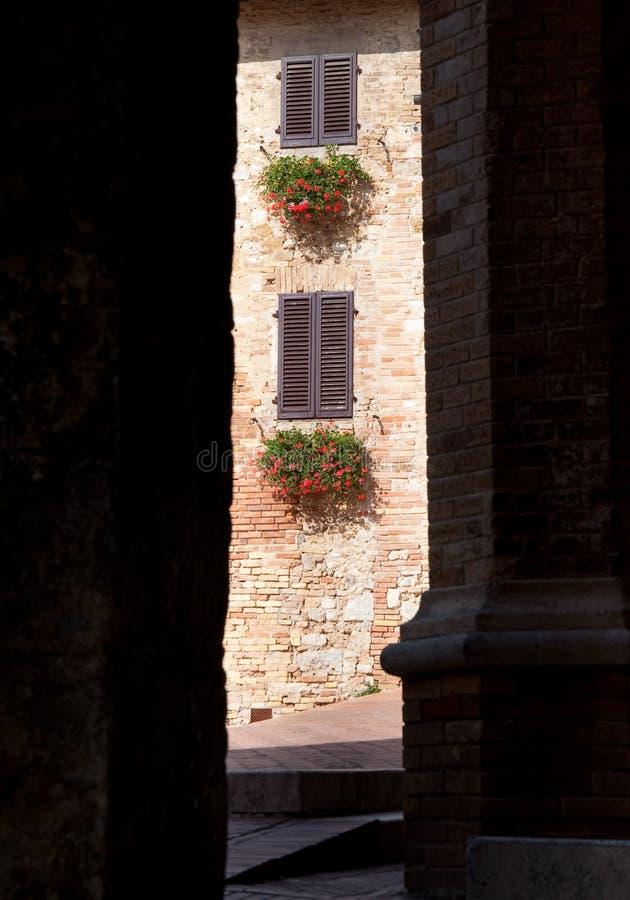 San Gimignano,Tuscany royalty free stock photography
